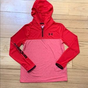Under Armour hoodie, youth large